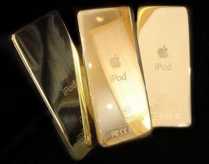 Золотой iPod